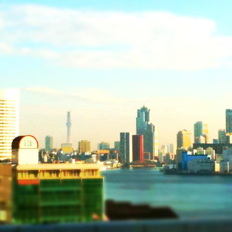 レインボーブリッジから見える風景~東京スカイツリー☆