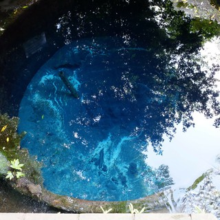 水底の井戸