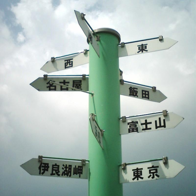 東西南北、どこ行きたい?