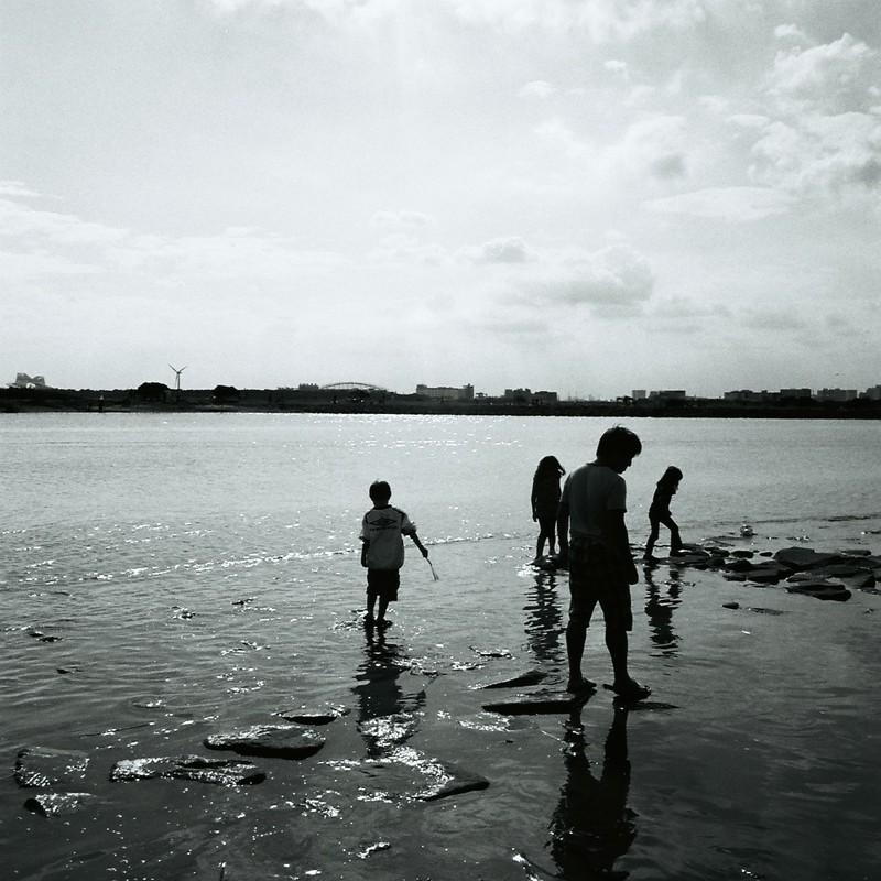 海辺の散策