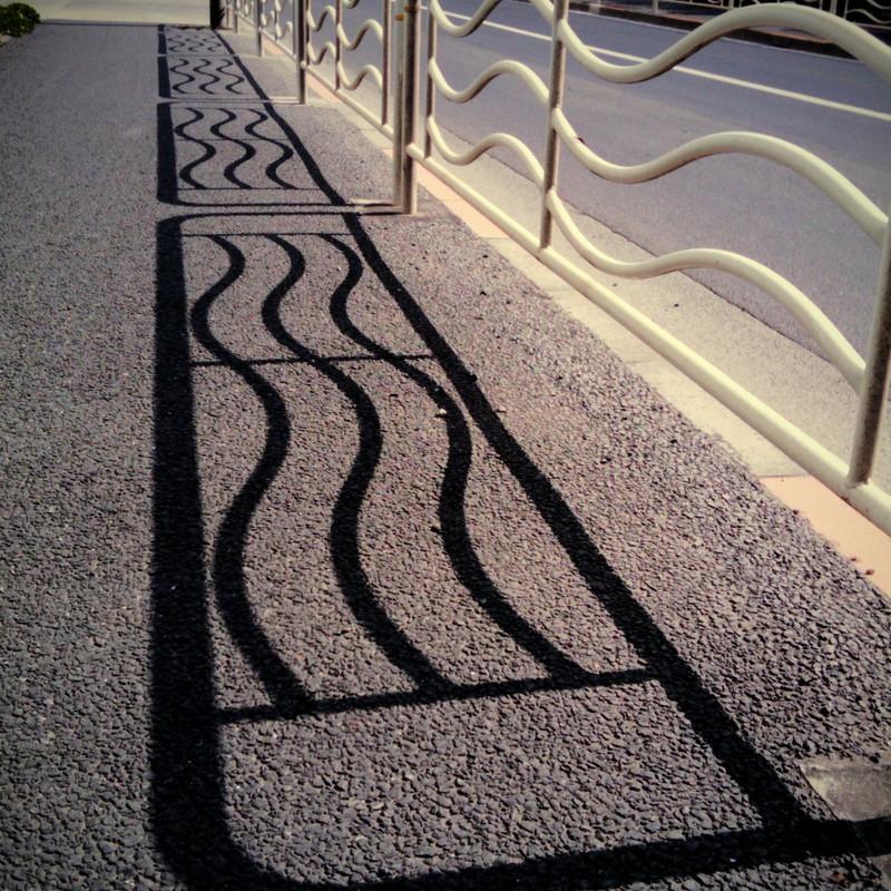 波々な影と散歩の関係