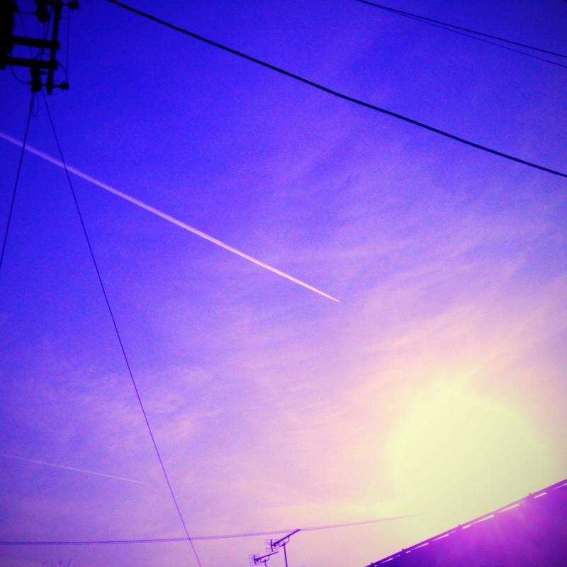 太陽一直線