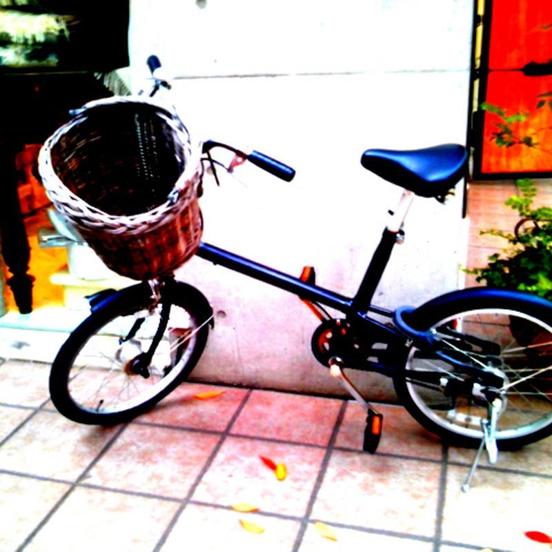 絵になる自転車