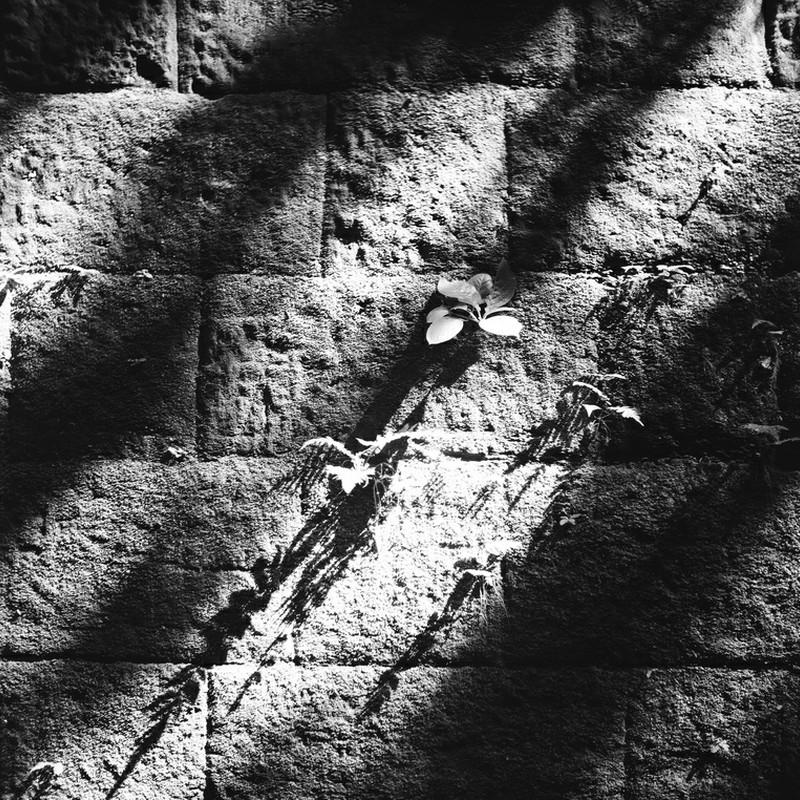 石積みの壁画