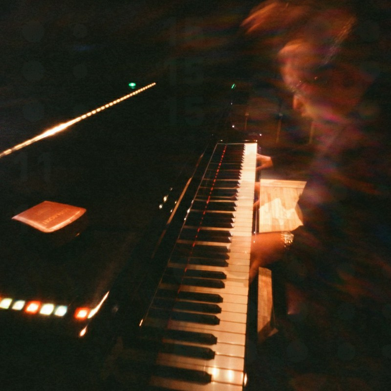 鍵盤上のエア