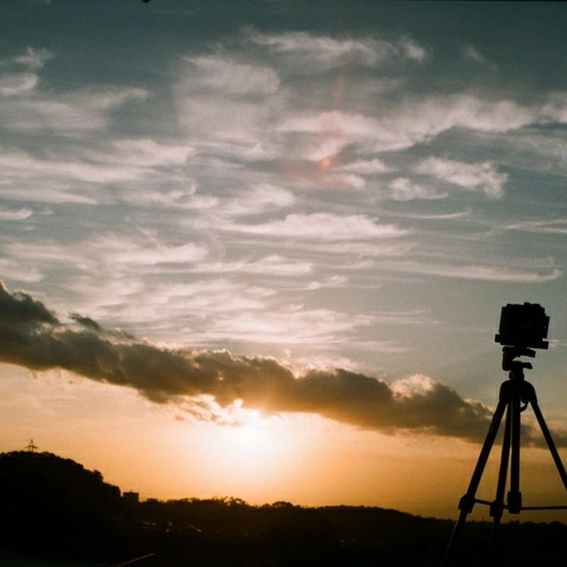 富士を撮るを撮る。