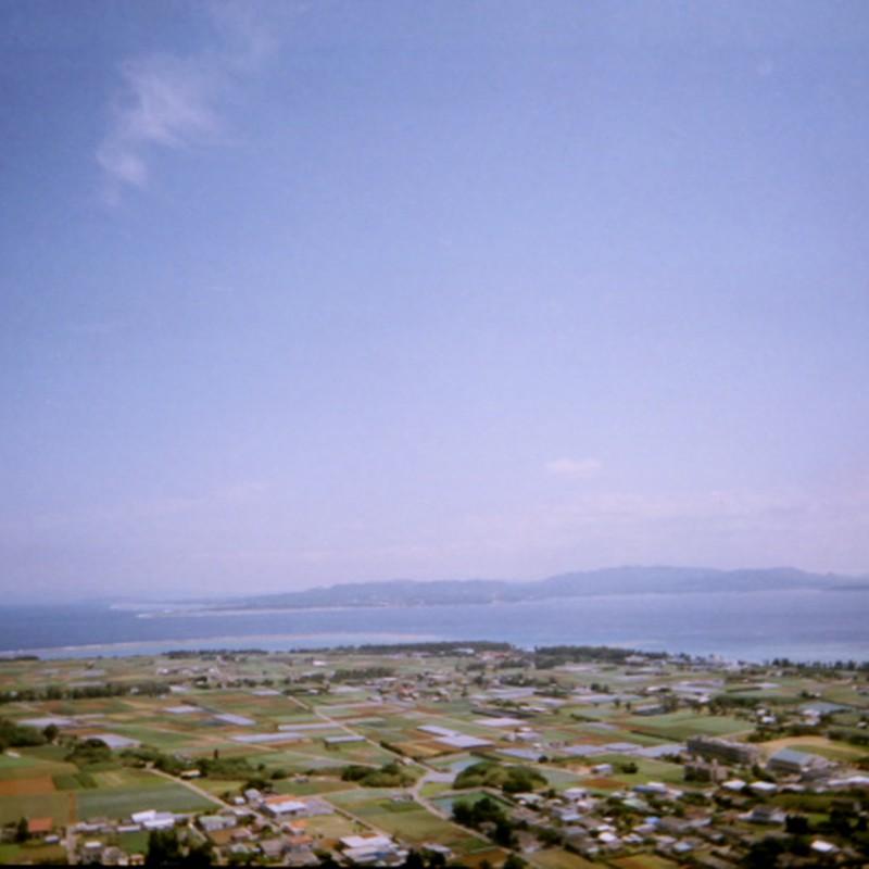 伊江島 城山(タッチュー)から