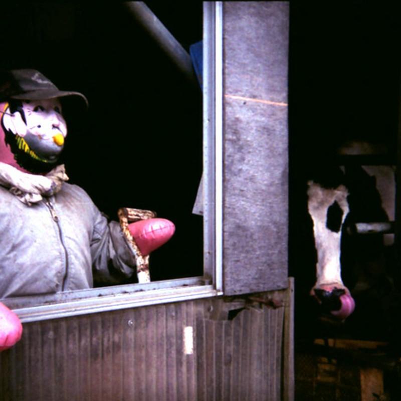 牛小屋の管理人