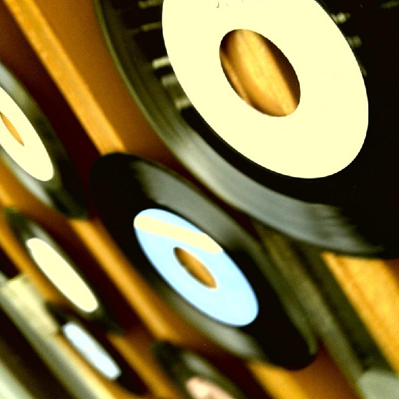 懐かしのレコード店