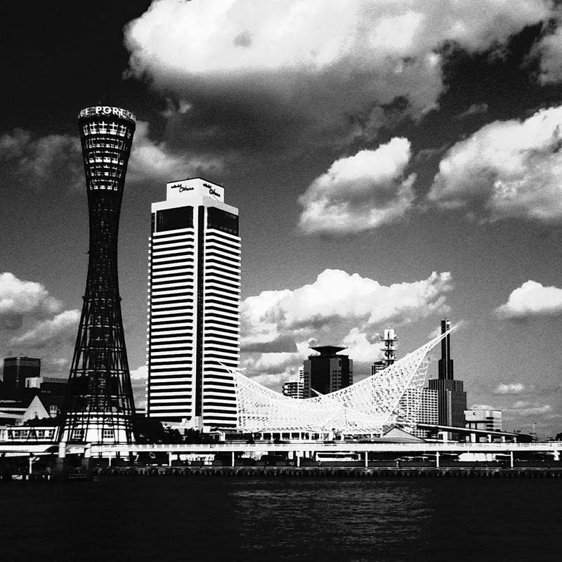 港のある街