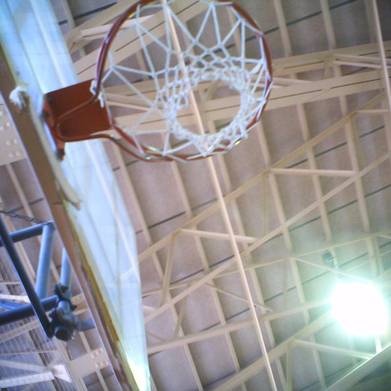 入学式の体育館
