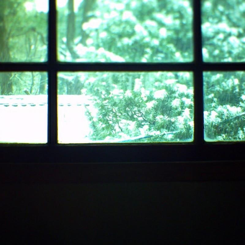 窓の外は銀世界