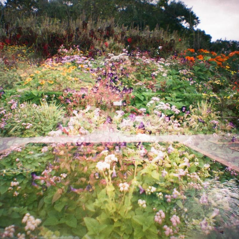 庭園にて2