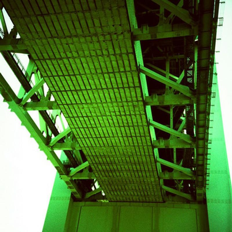 下から瀬戸大橋