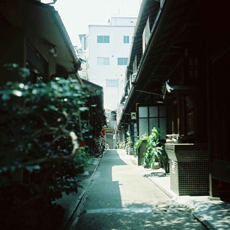 静かな路地