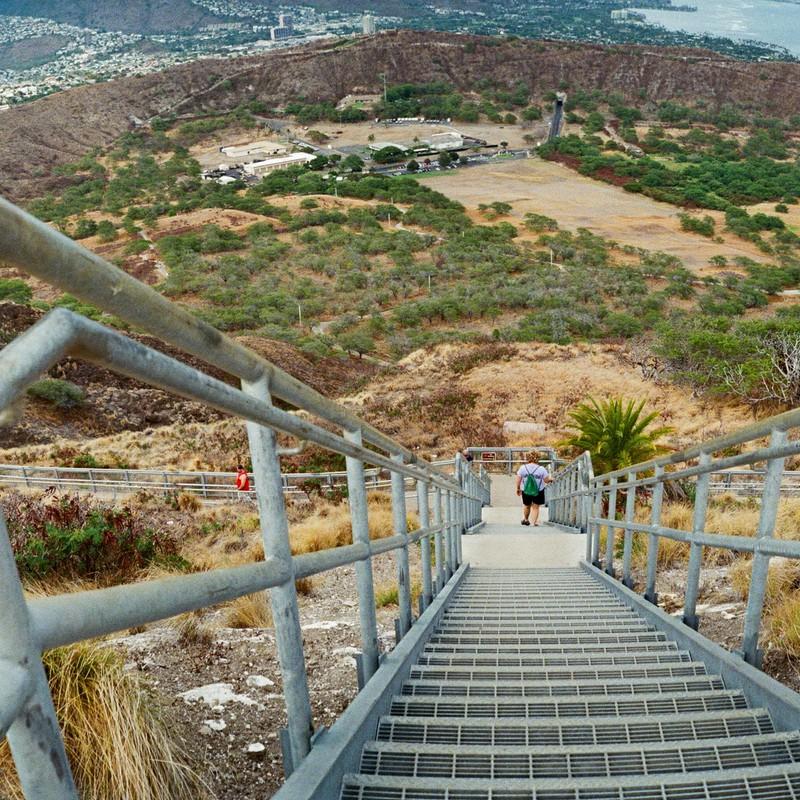 地球に降りる階段