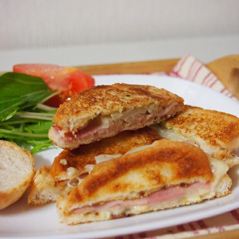 サンドイッチが好き。