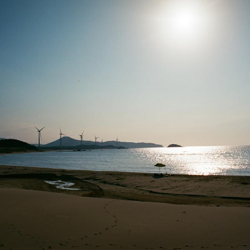 午後四時の海岸線