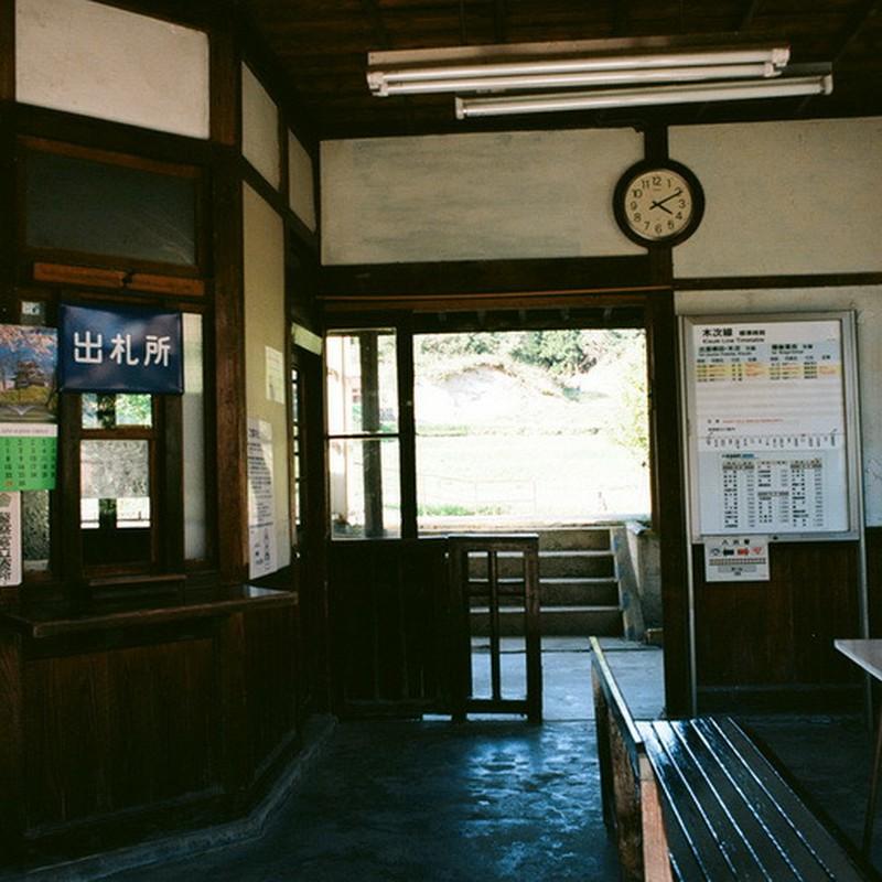 4時11分の木造駅舎