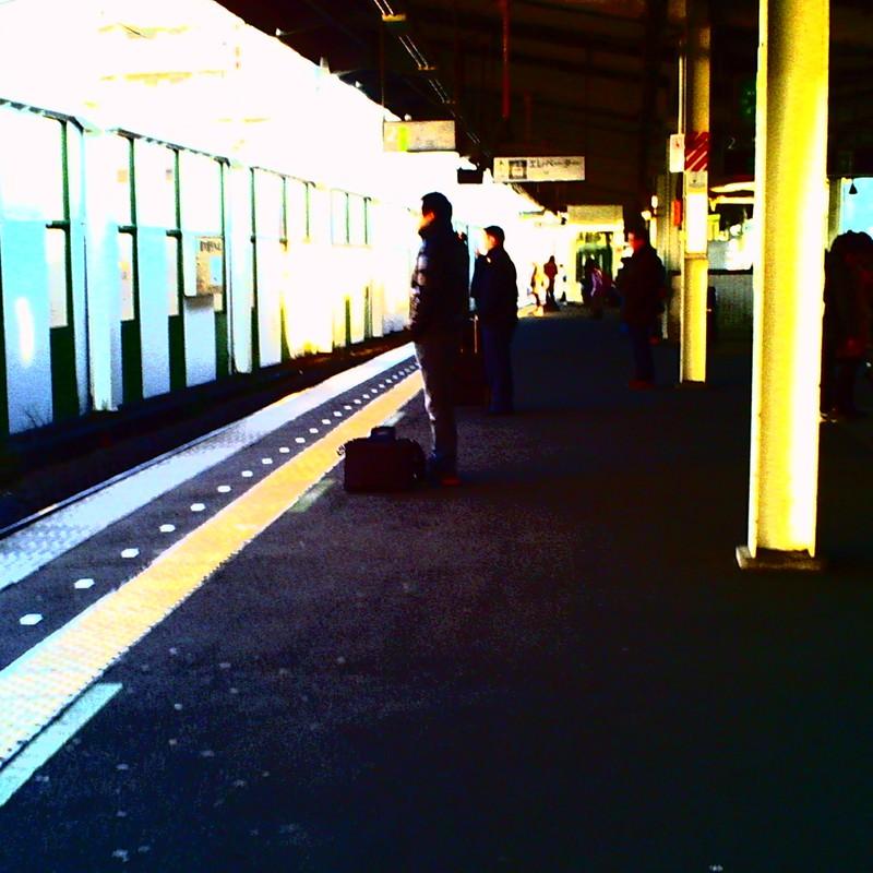 モザイクな駅