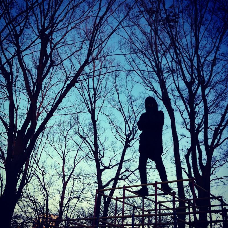 公園のヒーロー