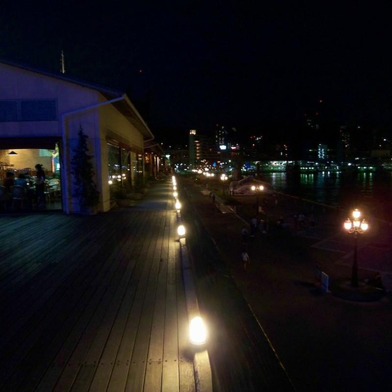 モザイクガーデンからの夜景