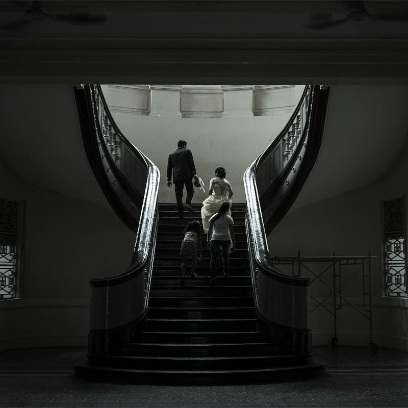 階段を上り詰めれば…