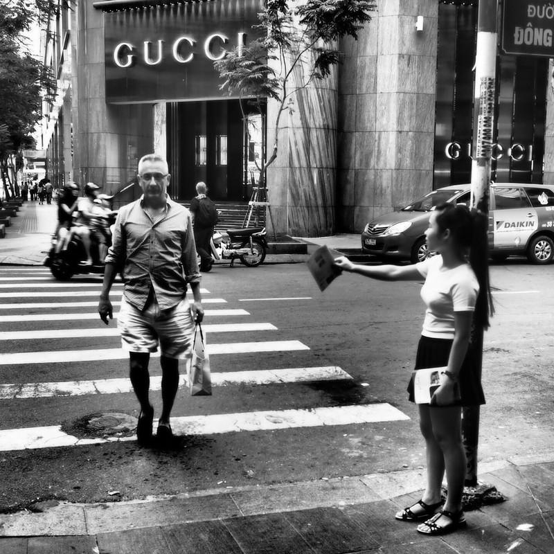 Walking in Saigon