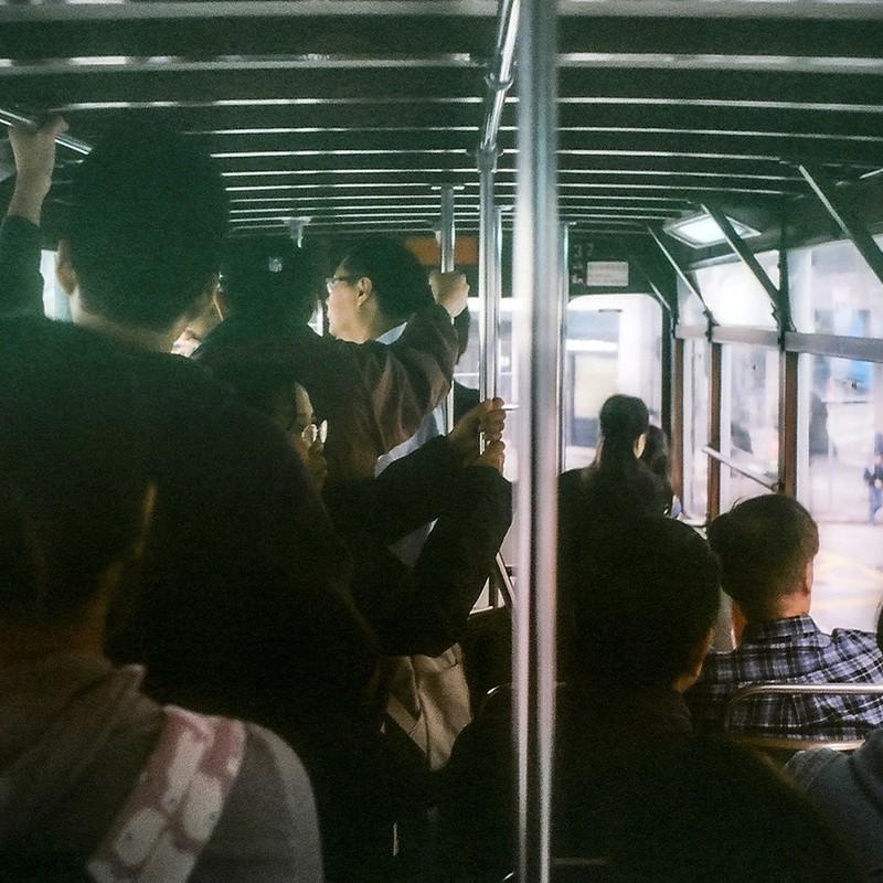 トラム車内