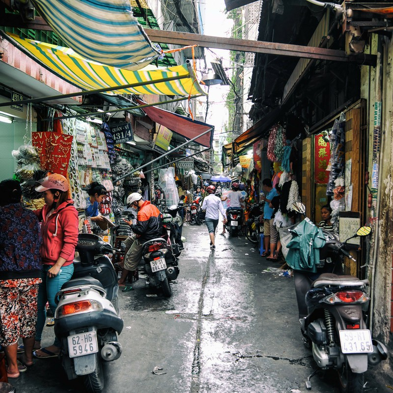 Saigon back street