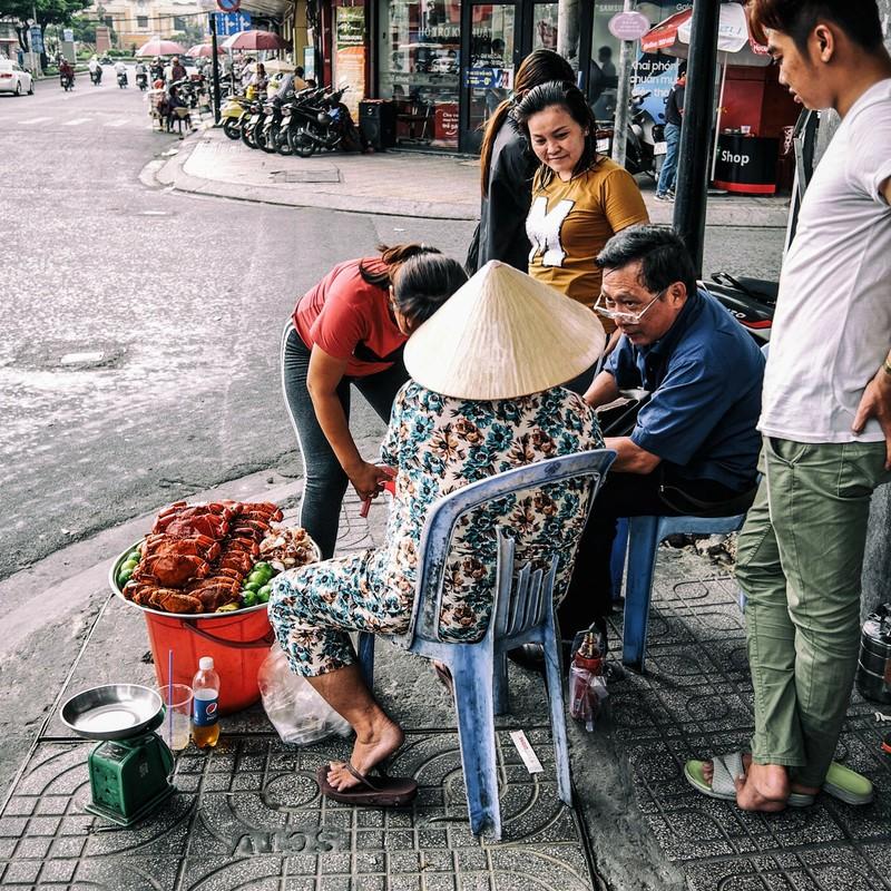 サイゴンの街角
