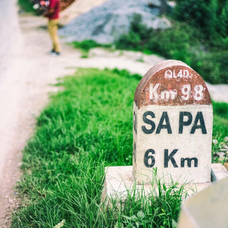サパまで6km…