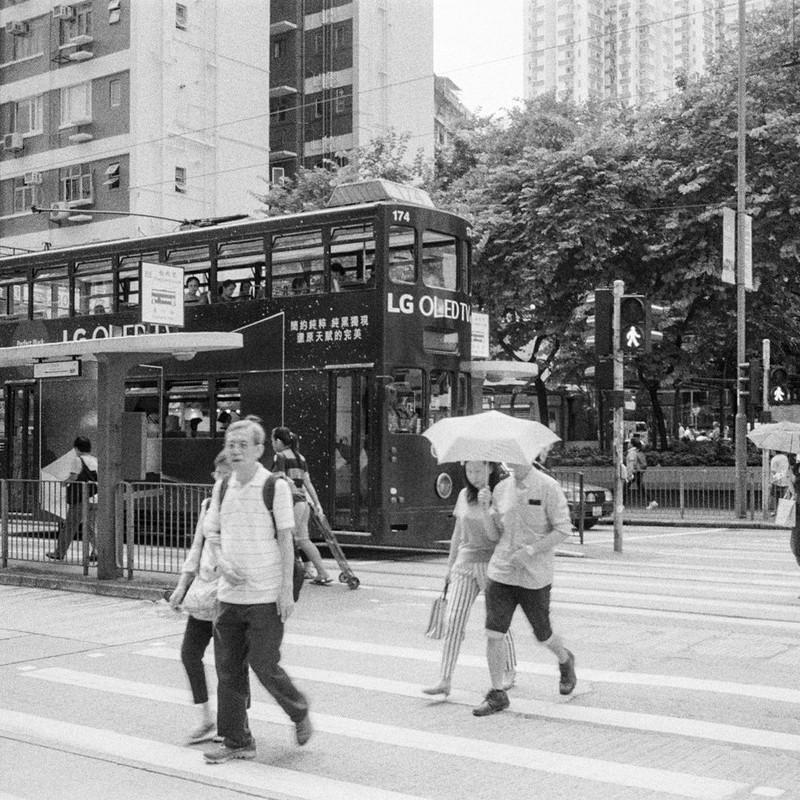 Crossroad in HK
