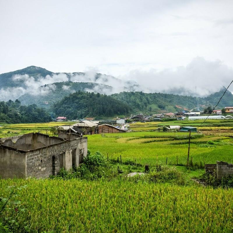 タフィン村の廃墟