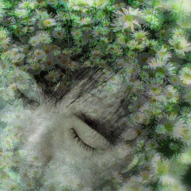 セルフポートレイト『花とオッサン』