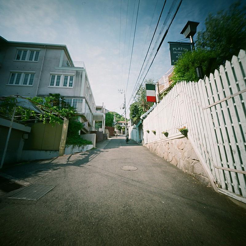 ピンホール『坂の異人館』