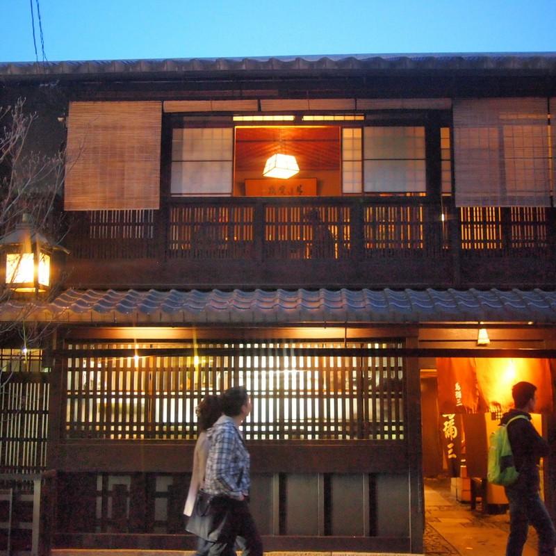 京の夜 「町家」