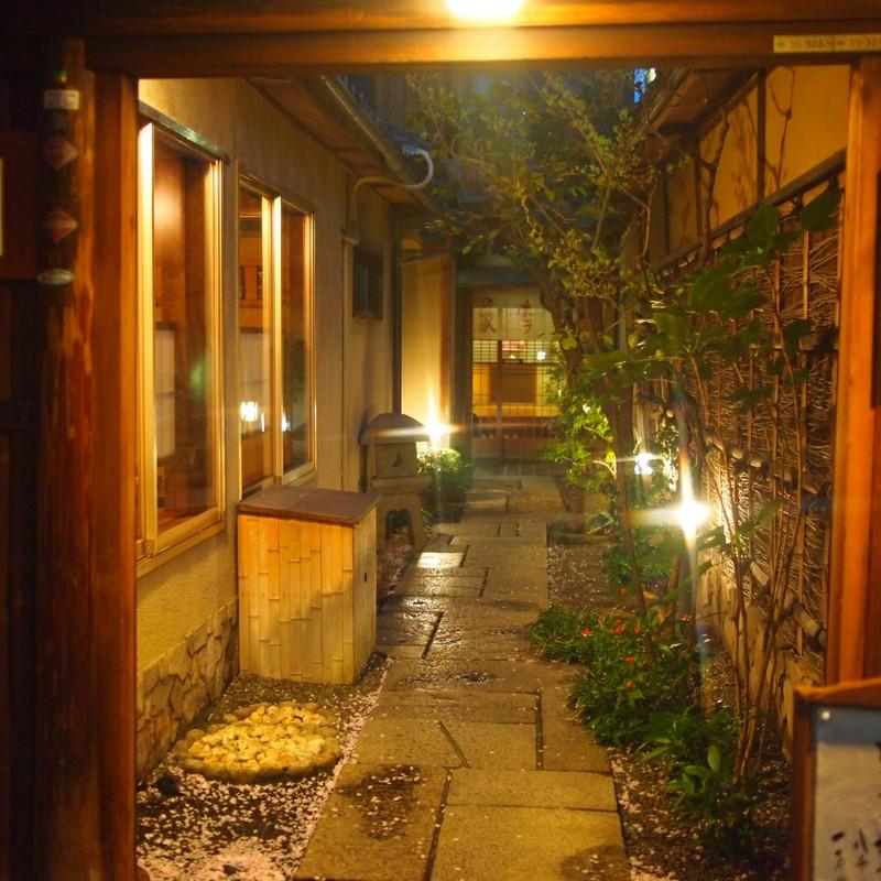 京の夜 「路地」