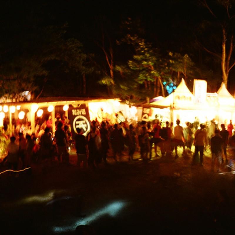 音楽と祭りの夜