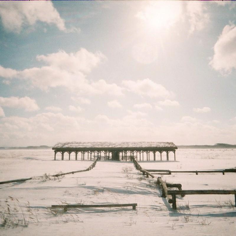 冬季馬小屋