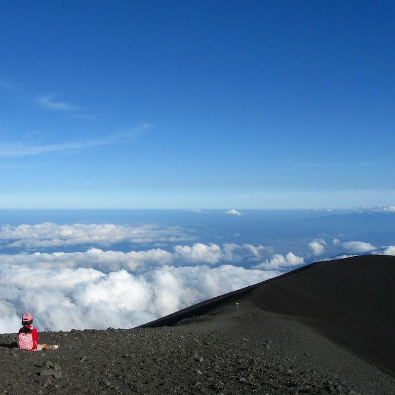 砂いじり@富士山