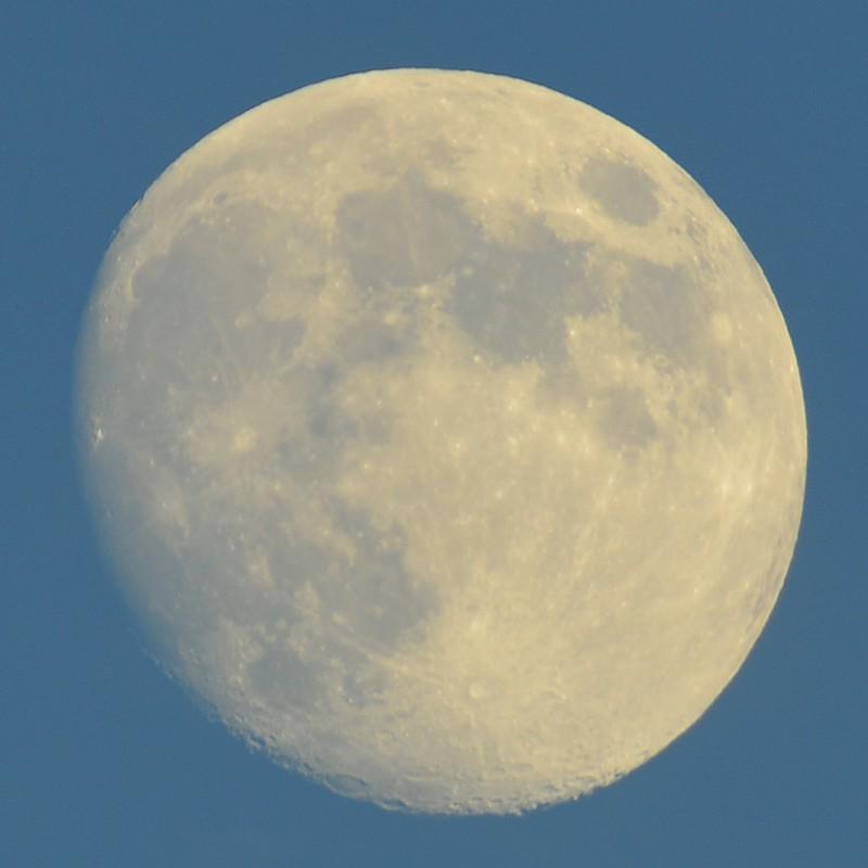 さっきの月