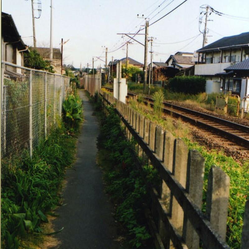 路地と単線