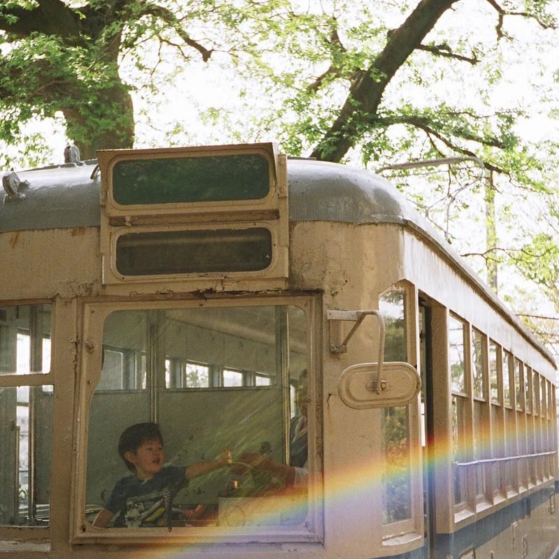 新緑快速レトロ列車