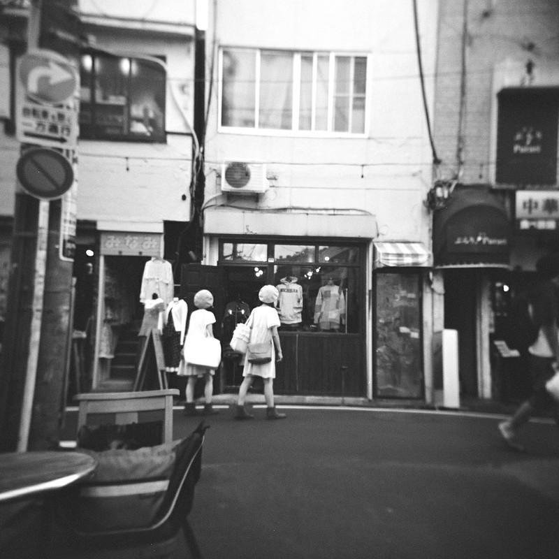 高円寺の双子