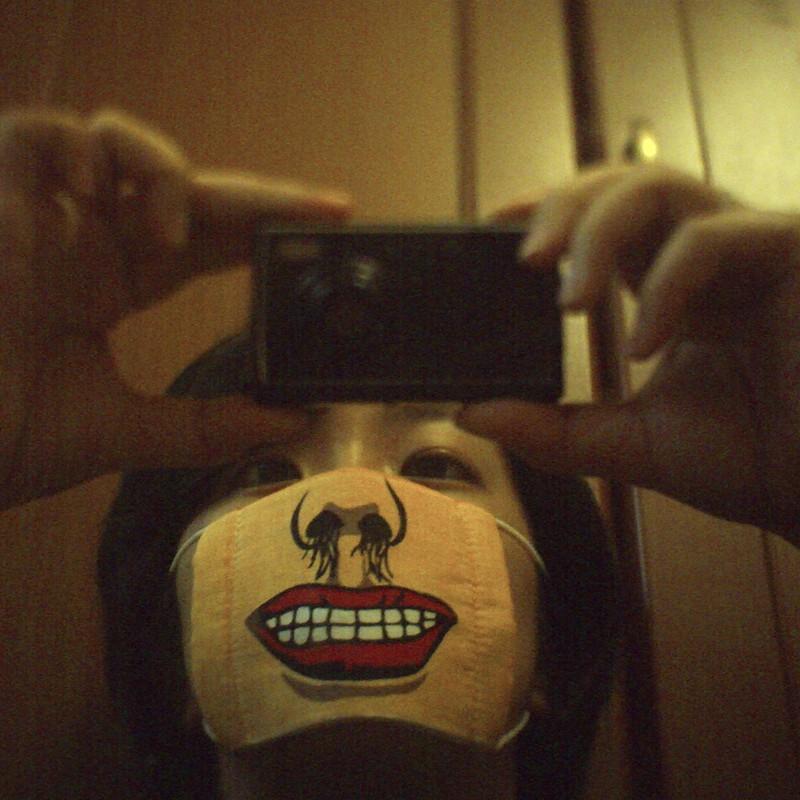 はい、笑ってー