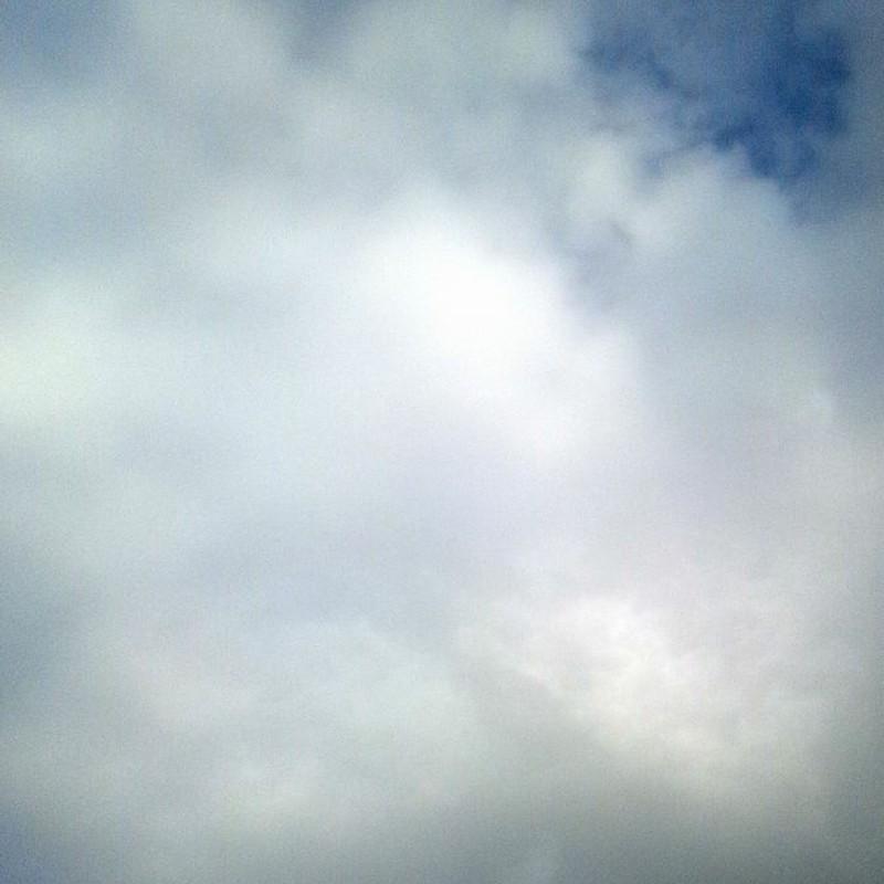 雲のコントラスト