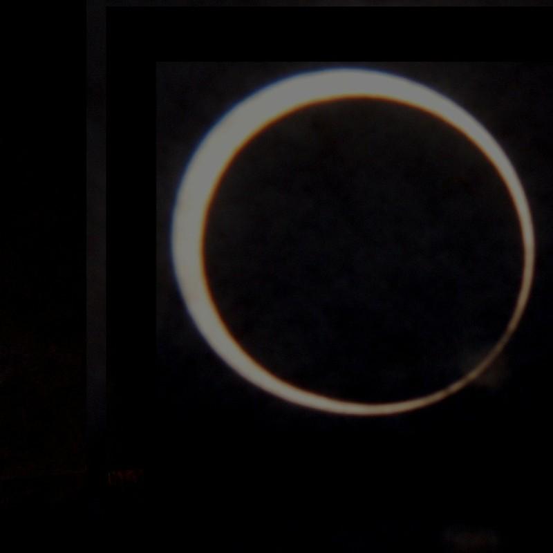 Annular eclipse 金環食組写真