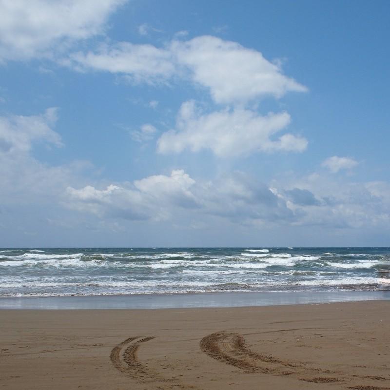 空と海と地