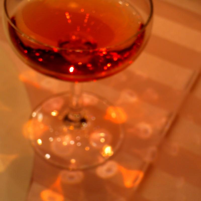 シャンパンの祝福